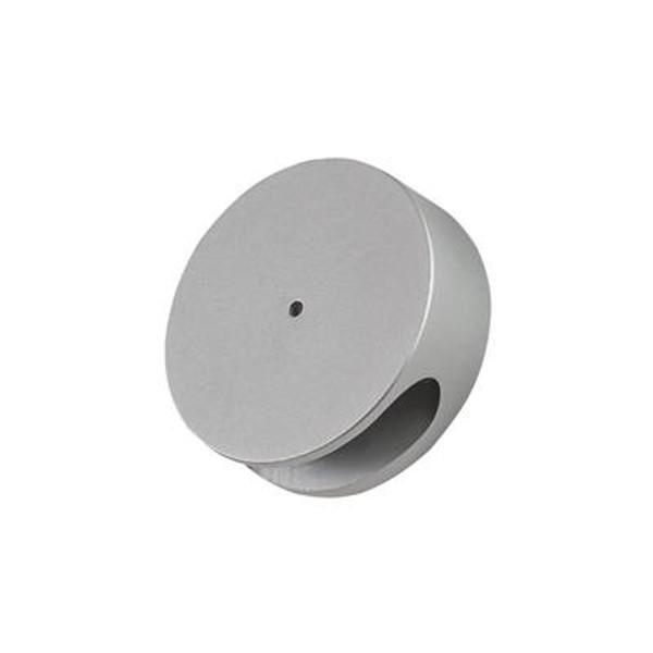 ALLURE-ROUND Semi Recessed 1W LED Steplight - Aluminium Finish