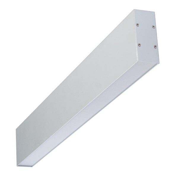 Lumaline-2 600mm Up and Down LED Wall light - Anodized Aluminium Finish