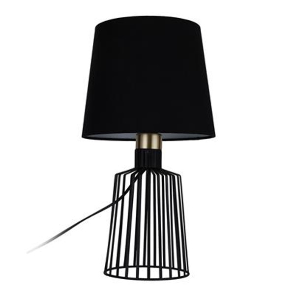 ASHLEY-TL CAGE TABLE LAMP 1XE27 240V