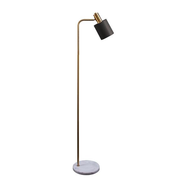MARISOL-FL MARBLE S/BRASS F/LAMP 1XE14 240V