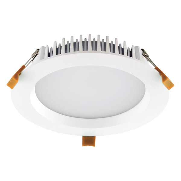 DECO-20 Round 20W Dimmable LED Downlight - White Frame