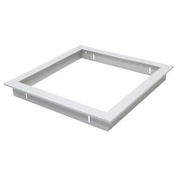 TRIM-303 Square Recessed Panel Trim - Satin White Trim