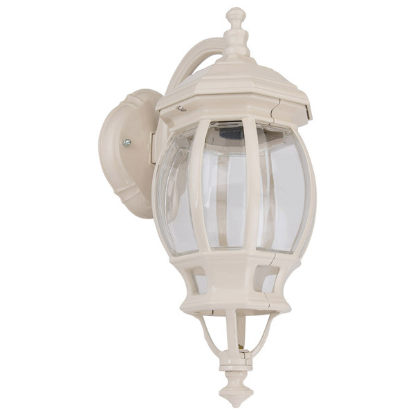 GT-1032 Vienna Curved Arm Downward Wall Light - Powder Coated Finish / B22