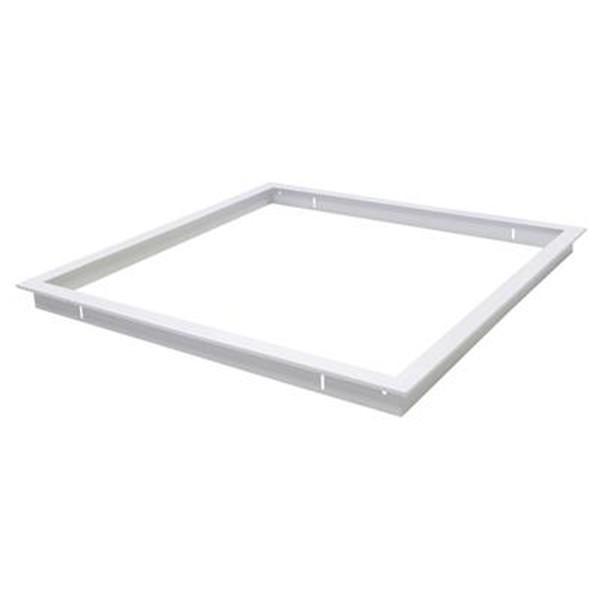 TRIM-606 Square Recessed Panel Trim - Satin White Trim