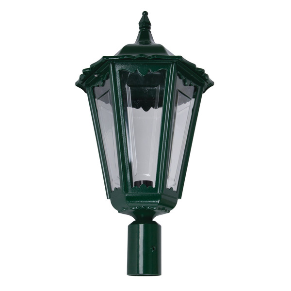 GT-166 Chester Large Post Top Light - Powder Coated Finish / B22