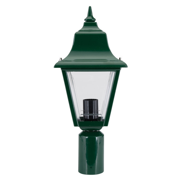 Paris Traditional Post Top Light - Powder Coated Finish