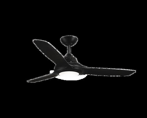 """EVO II 50"""" Ceiling Fan with Light Black"""