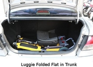 Getting the Luggie into your Vehicle