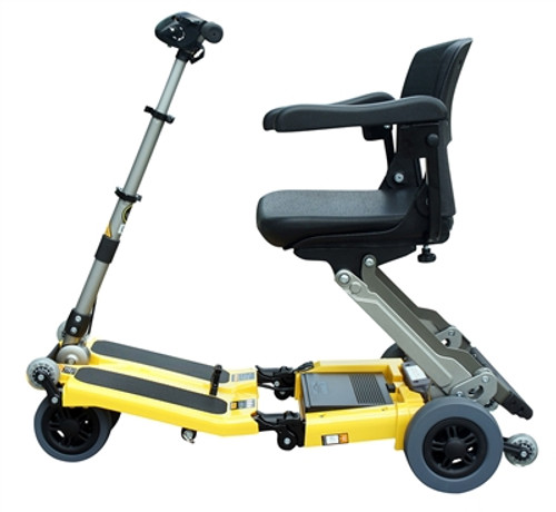 Open Box Elite Luggie Scooter - Yellow