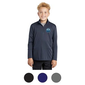 SCL Youth Quarter Zip Dri-Fit Pullover