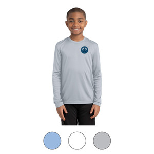 SCL Youth Long Sleeve Moisture Wicking Tee