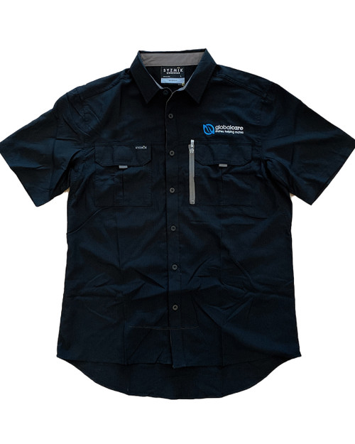 Global Care Men's Outdoor Button-Up Shirt