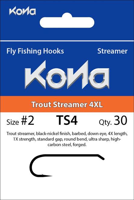 Kona TS4 Trout Streamer Hook