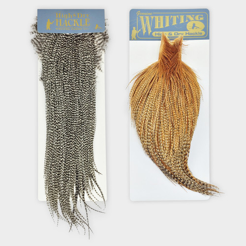 Whiting HIgh & Dry Hackle Cape