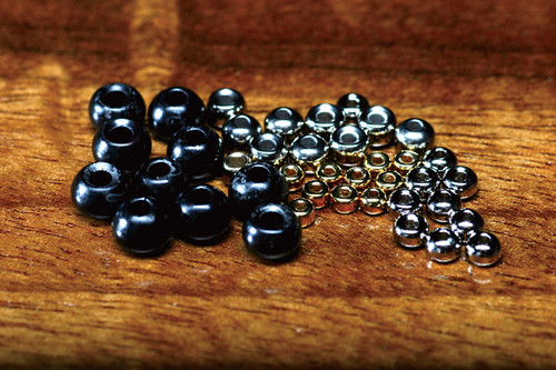 Hareline Slotted Tungsten Beads
