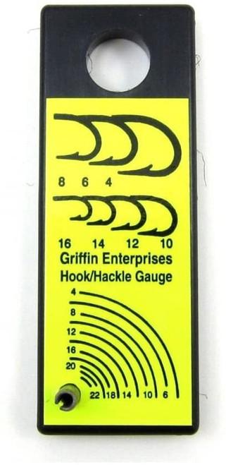 Griffin Hook & Hackle Gauge
