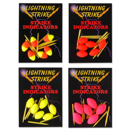 Lightning Strike Football Indicators with Pegs
