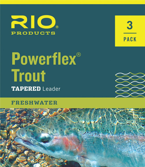 Powerflex Trout Leader 3 pk