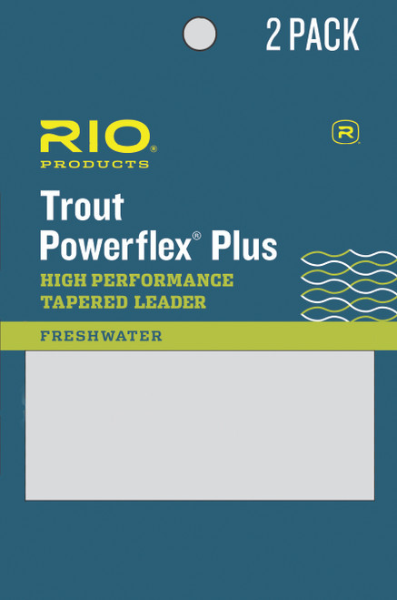 Rio Powerflex Plus Trout Leader 2 pk