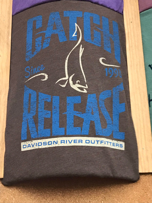 DRO Catch and Release Logo Tshirt