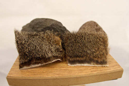 Squirrel Body Pieces-Natural, Gray
