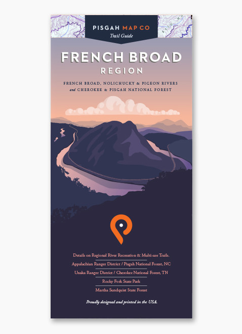 French Broad Map