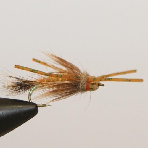 Bead Head Rubber Leg Red Fox Squirrel Nymph