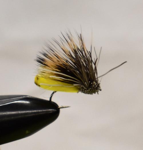 Furminsky Fluttering Caddis Yellow