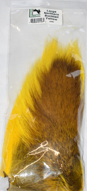 Large Northern Bucktail Yellow