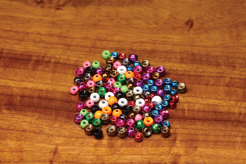 Plummeting Tungsten Beads
