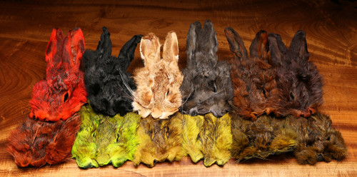 Dyed Grade #1 Natural Hare's Mask