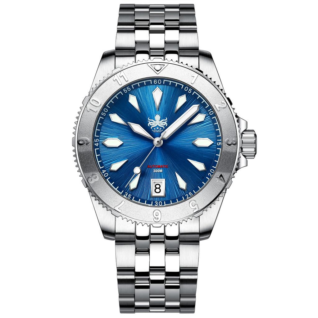 PHOIBOS Voyager 300M Automatic Diver Watch PY026B Blue