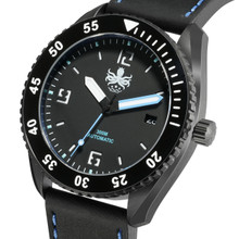 PHOIBOS REEF MASTER PY015B DLC 300M Automatic Diver Watch Blue