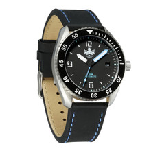 PHOIBOS REEF MASTER PY016C 300M Automatic Diver Watch Black