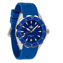 PHOIBOS SEA NYMPH 300M Lady Diver Watch PX021B Blue