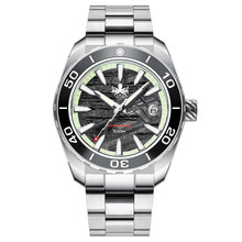 PHOIBOS Proteus 300M Automatic Diver Watch PY024F Gray Meteorite