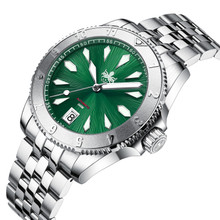 PHOIBOS Voyager 300M Automatic Diver Watch PY026A Green