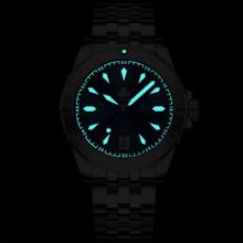 PHOIBOS Voyager 300M Automatic Diver Watch PY026C Black