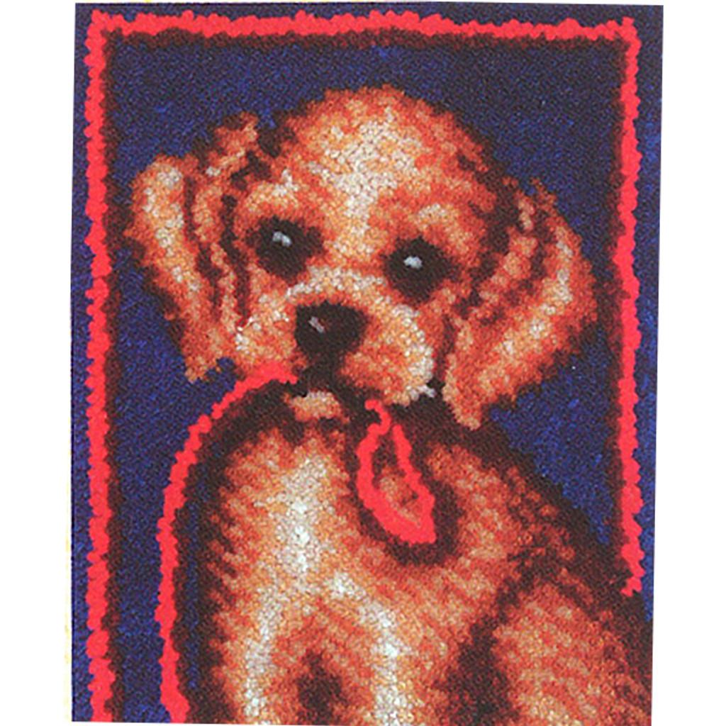 Puppy Dog Latch Hook Rug Kit