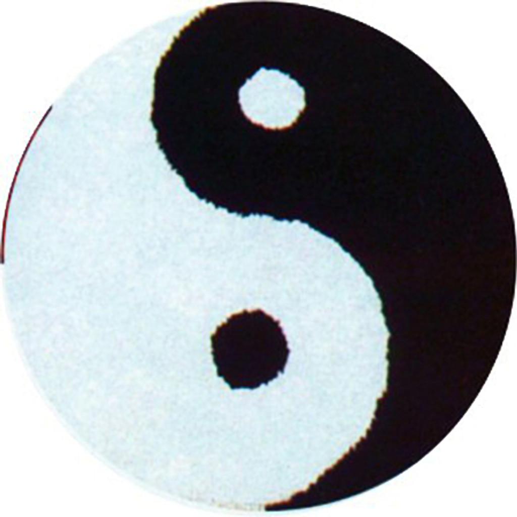 Yin and Yang Latch Hook Rug Kit