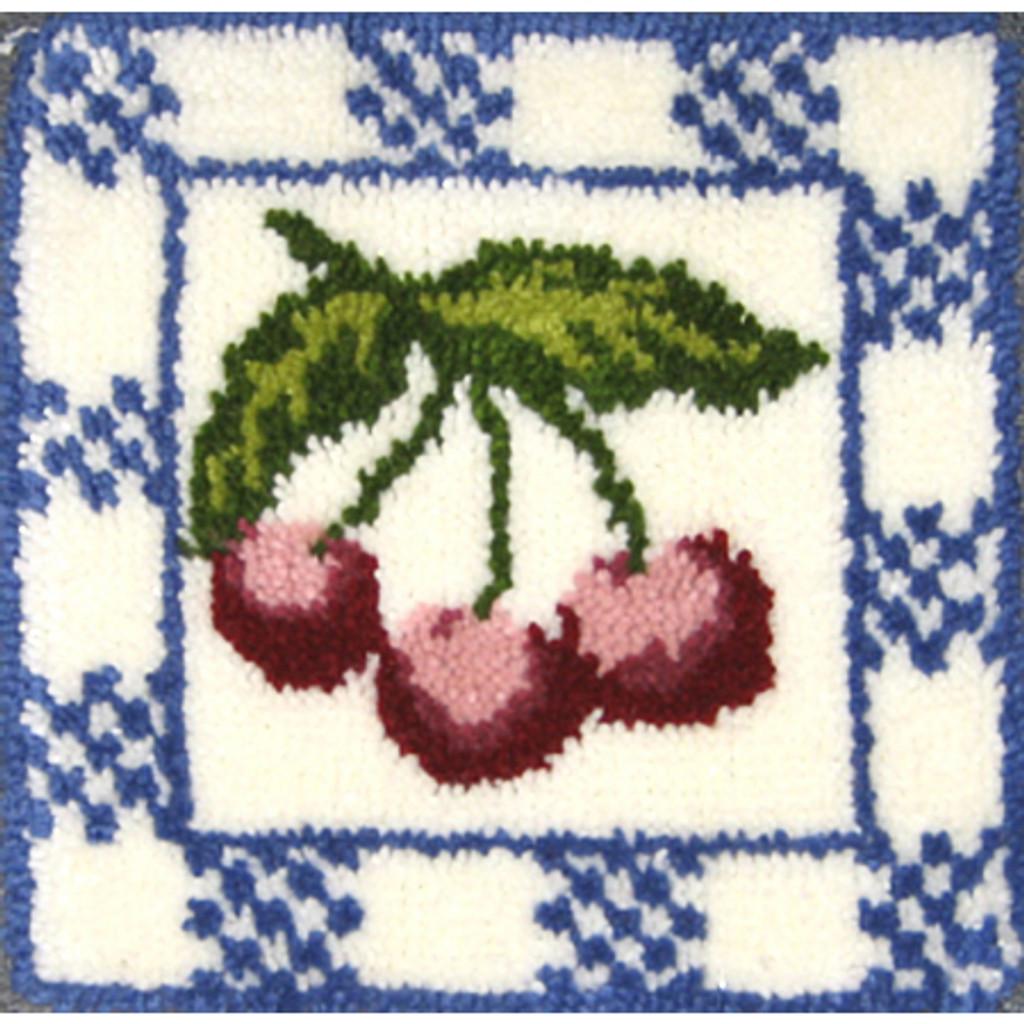 Cherries Latch Hook Kit