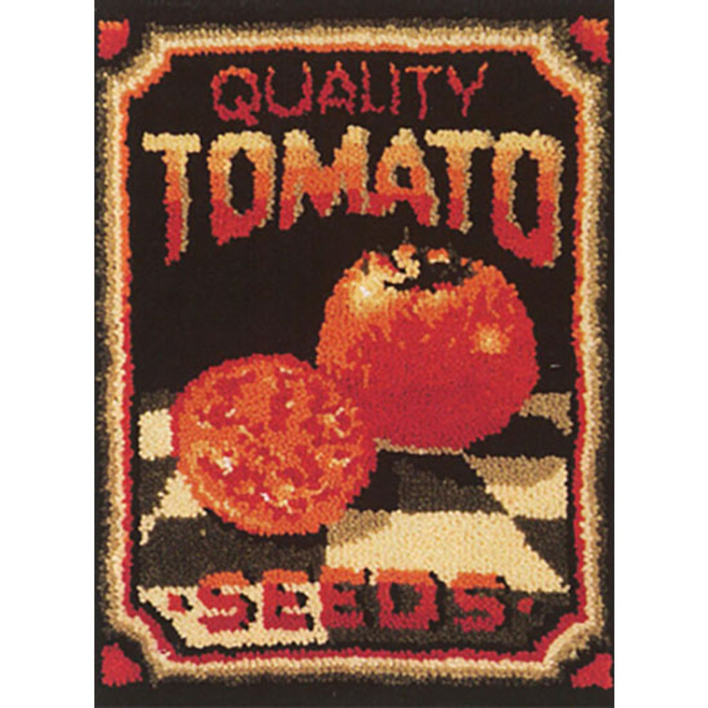 Tomatoes Latch Hook Rug Kit
