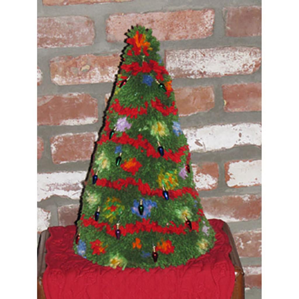 Christmas Tree Latch Hook Kit