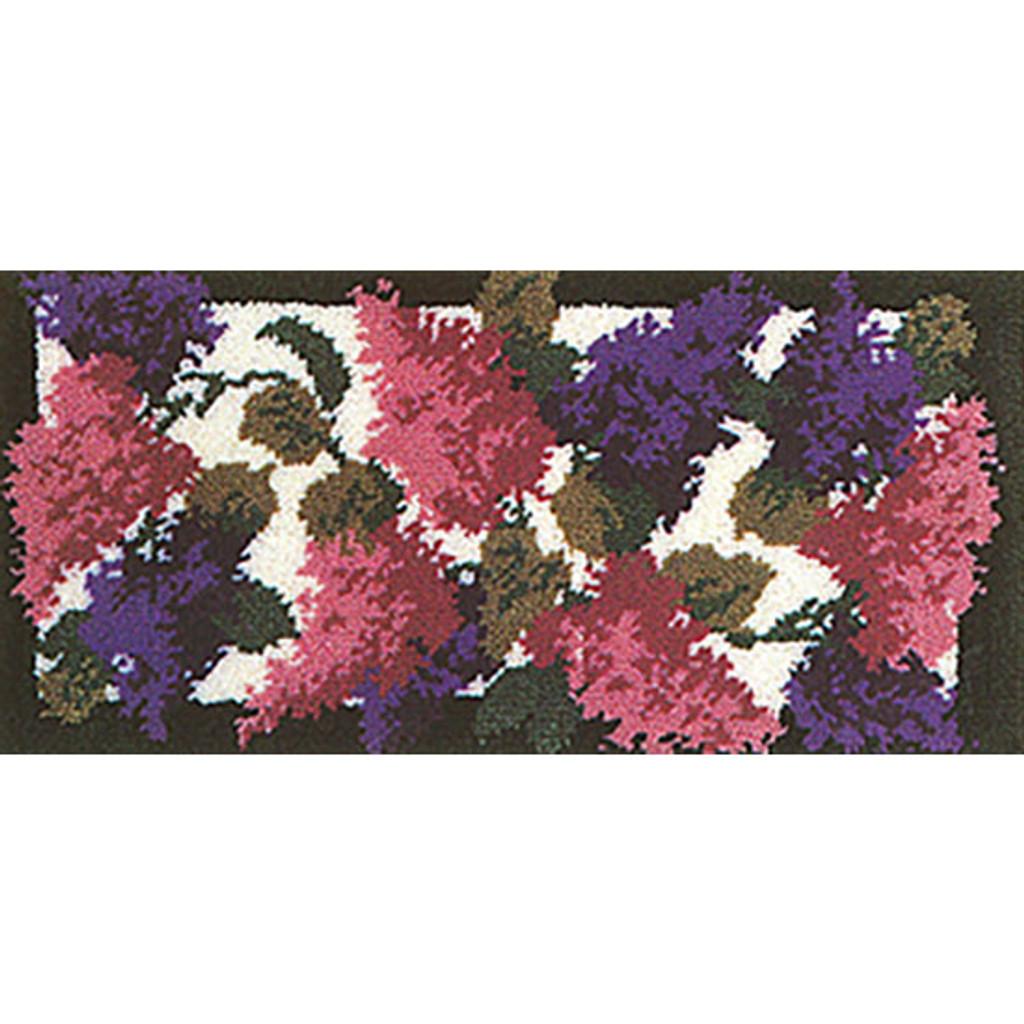 Lilacs Latch Hook Rug Kit