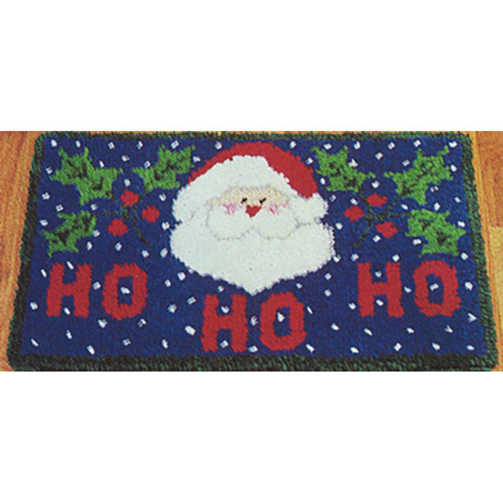 Ho Ho Ho Latch Hook Rug Kit
