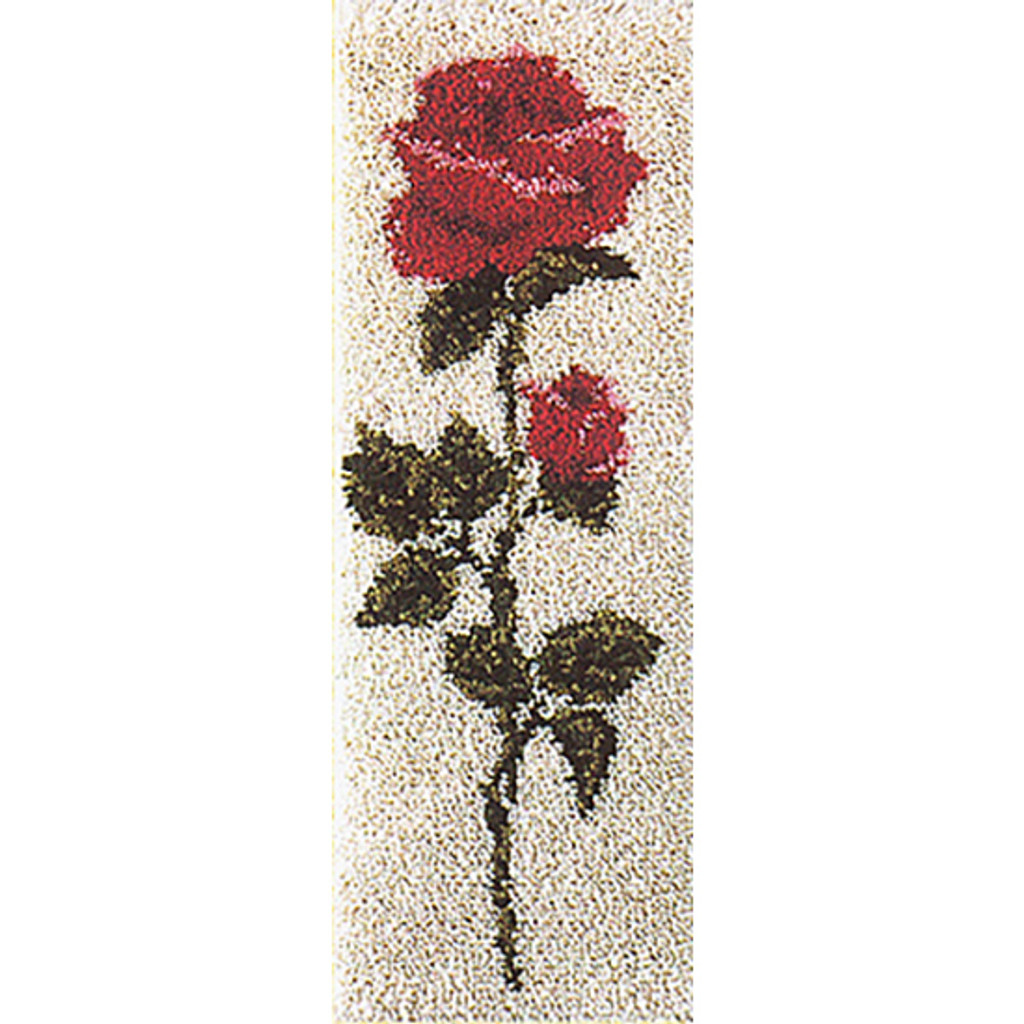American Beauty  Latch Hook Rug Kit