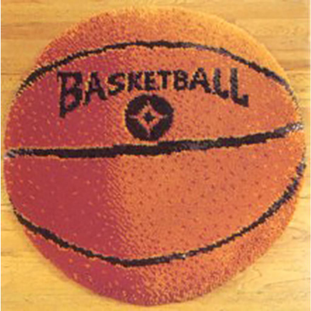 Basketball Latch Hook Rug Kit
