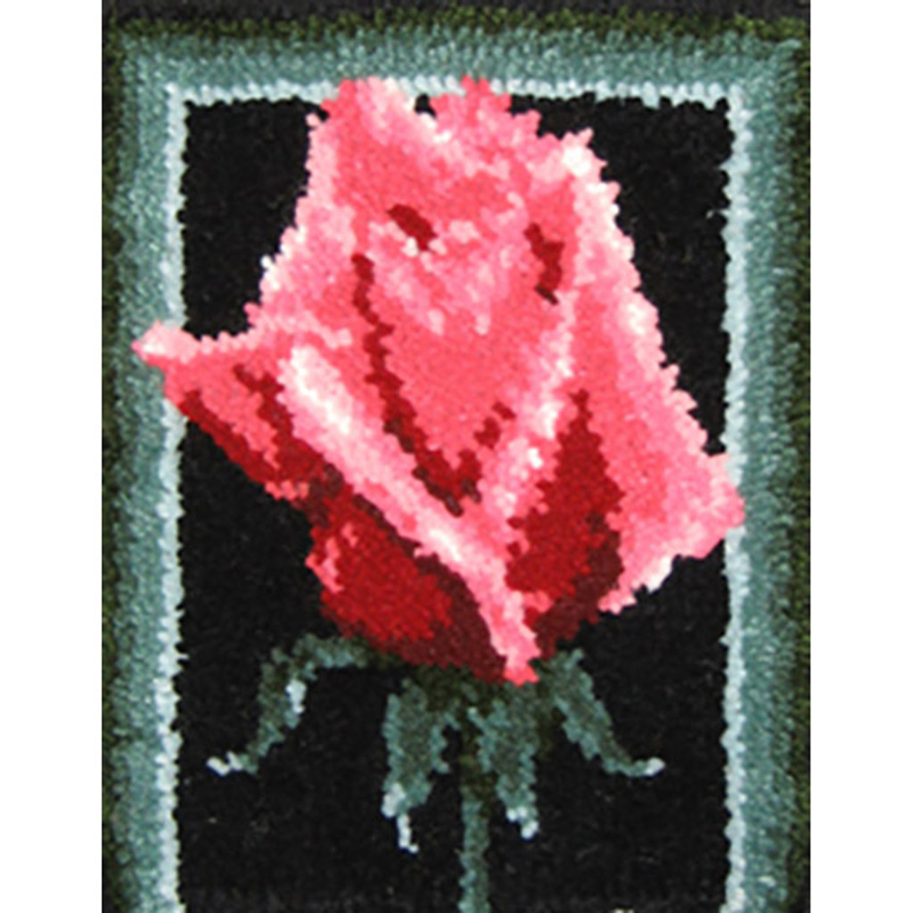 Rosa Latch Hook Rug Kit