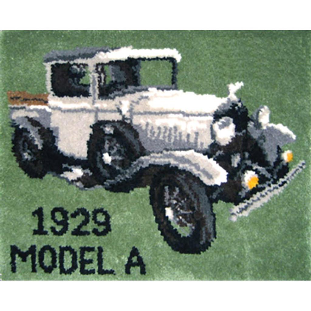 Model A Truck Latch Hook Rug Kit