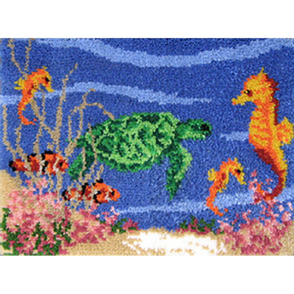 Under the Sea Latch Hook Rug Kit